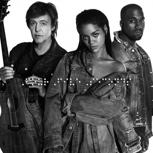 RIHANNA and KANYE WEST and PAUL MCCARTNEY: FourFiveSeconds